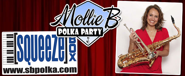 Mollie B Polka Party Event Image