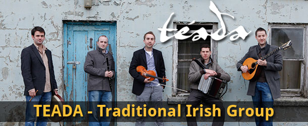 TEADA - Irish Traditional Group Event Image