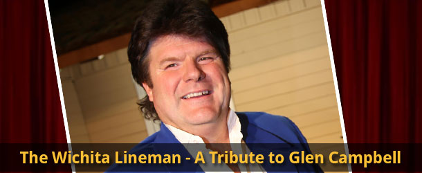 The Wichita Lineman - A Tribute to Glen Campbell <small>Featuring Carl Acuff, Jr.</small> Event Image